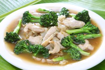 Rice Noodle in Gravy Sauce