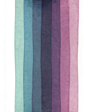abstract watercolor stripe