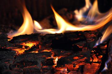Foto op Canvas Vuur fire