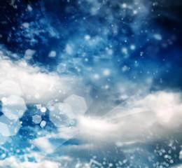 brilliant winter sky