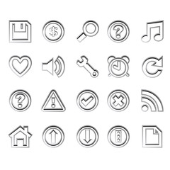 web icons ready for design