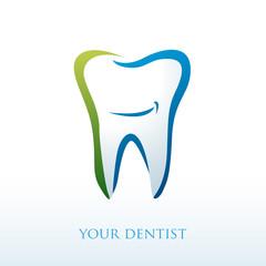 logo dentiste, dent