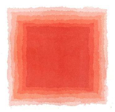 abstract watercolor squair