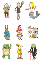 cartoon story people