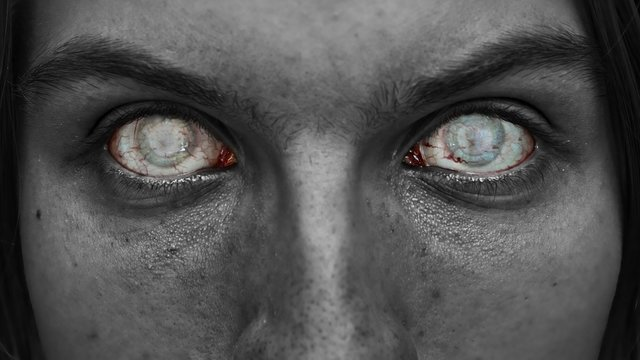 Horror blindness