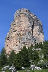 sommet des dolomites