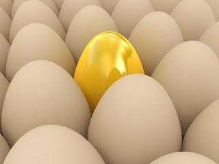 Easter surprise - golden egg