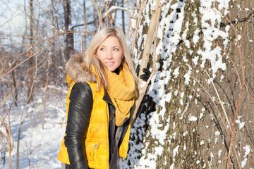 Winter woman 1