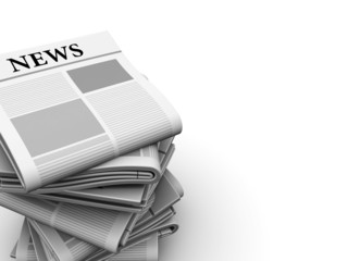 newspapers background