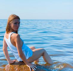 Happiness Beach Woman