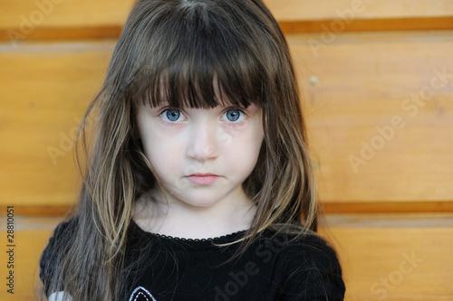 Surprising Little Girl With Blue Eyes And Black Hair 89410 Upstore Short Hairstyles For Black Women Fulllsitofus