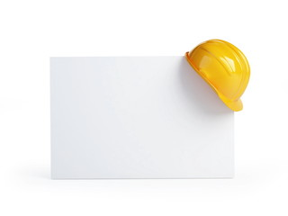 construction helmet blank