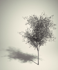 Art Retro tree