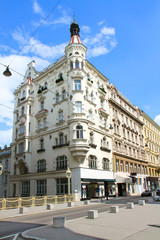 Fototapete - Beautiful old  building  in Vienna