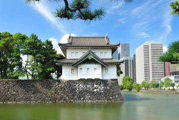 Keuken foto achterwand Tokyo Imperial palace in Tokyo