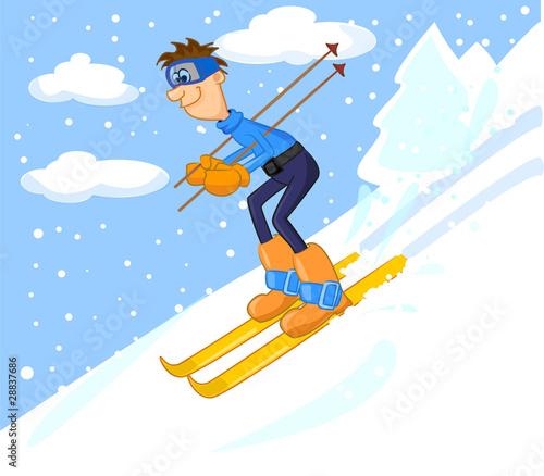 Почему я люблю горнолыжный спорт