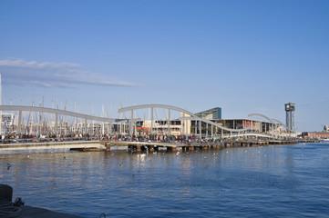 De la Fusta Pier located at Barcelona, Spain