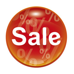 red sale icon