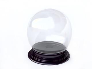 3D Empty Snow Globe