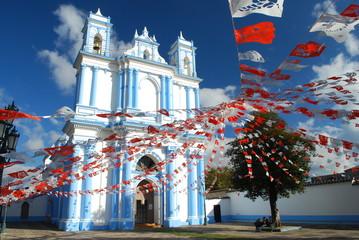 Papiers peints Mexique Iglesia de Santa Lucía, San Cristóbal de las Casas