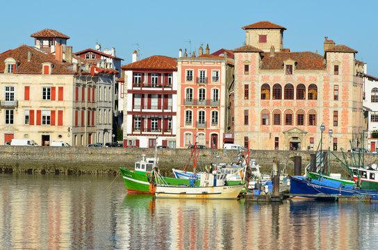 Petit port de Saint Jean de Luz