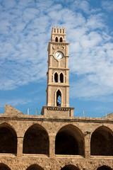 Old clock tower Akko