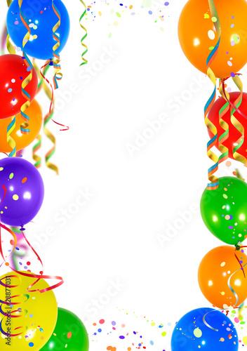 Quot Hintergrund Luftballons Blanko Quot Stockfotos Und