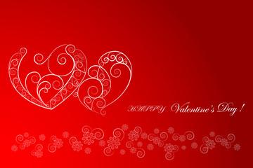 Hearts. vector.