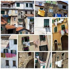 Old italian houses