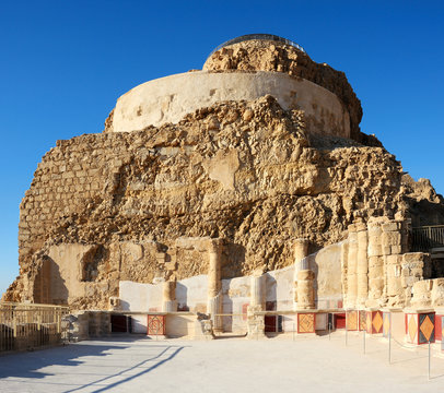 Masada, a part of the Northern Palace
