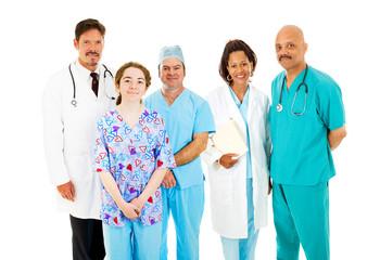 Diverse Medical Team