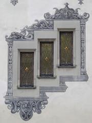 Arquitectura alemana antigua, ventana