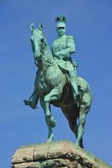 Statue eines Generals auf seinem Pferd