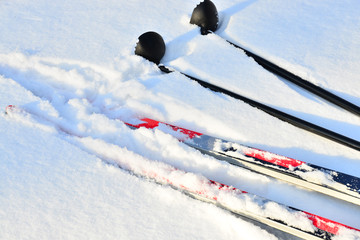 Cross-country skiing equipment