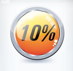 10 percent button