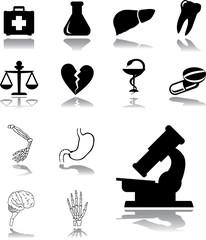 Set icons - 119. Medicine
