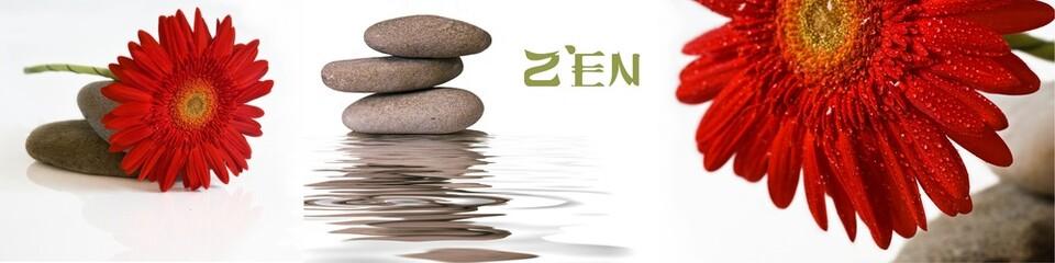 Printed roller blinds Zen bannière zen 8000 X 2000