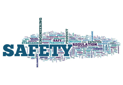 """Word Cloud """"Safety"""""""