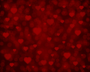 Flying hearts Valentine's day or Wedding vector background