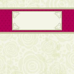 beige valentine background, vector
