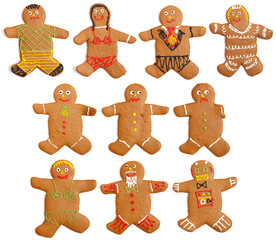 Homemade Gingerbread People