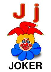 """Letter """"J"""" joker"""