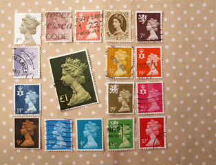 stamps of queen