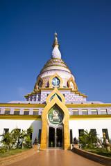 thai temple,Tha Ton Temple  Chiang Mai In Thailand