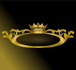diadème design roi