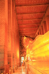 Recycling buddha at Wat Pho,Thailand.