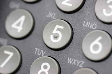 Telefon Tasten Tastatur Ausschnitt