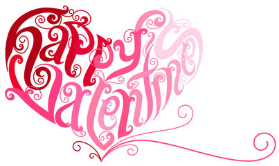 Vector Happy Valentine Heart