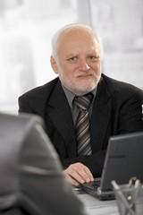 Portrait of senior professional