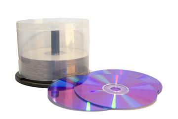 Case of DVD's